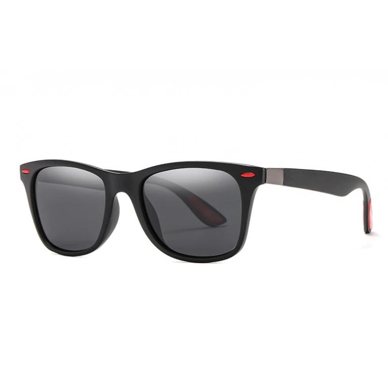 Очки поляризационные солнцезащитные с красными вставками