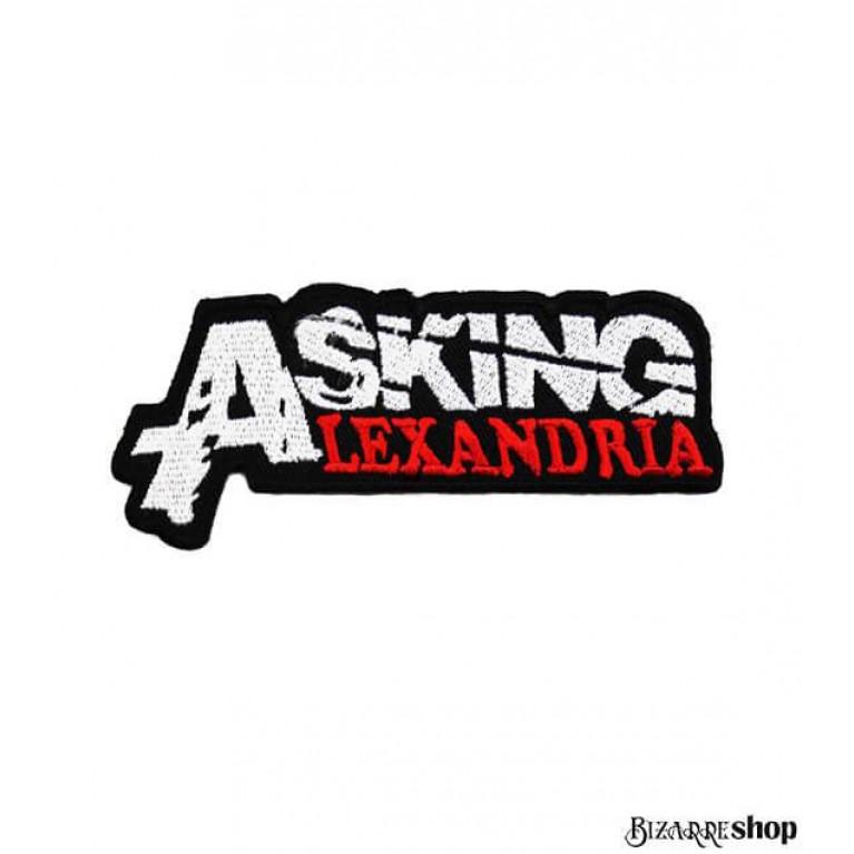 Термонашивка Asking Alexandria red