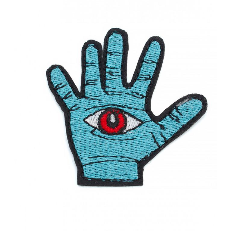 Термонашивка Рука с глазом