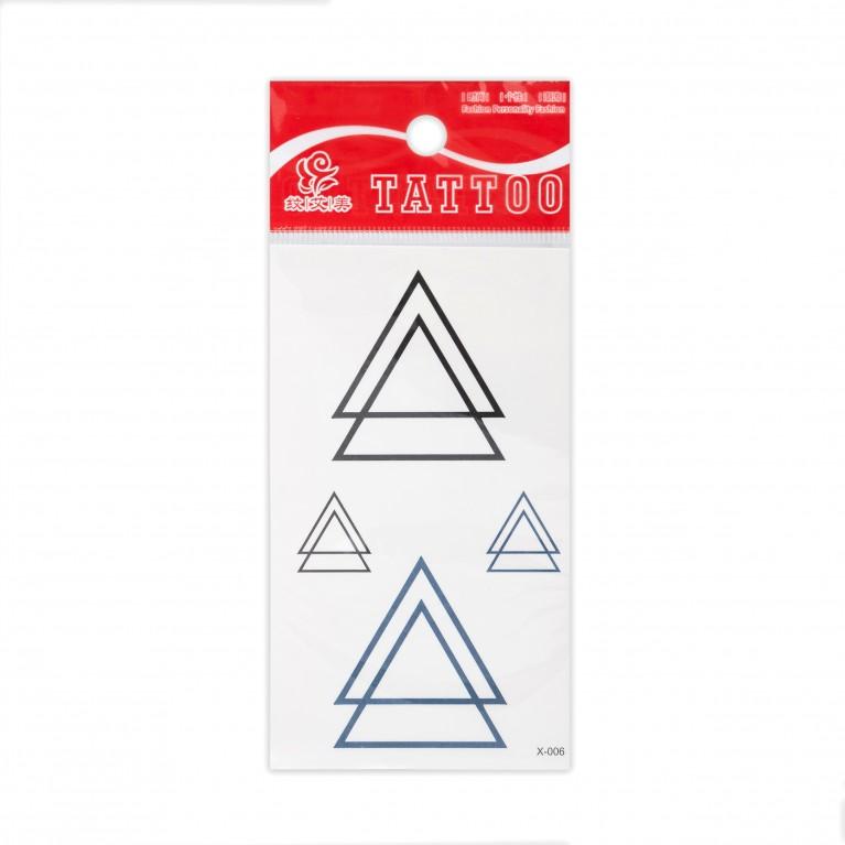 Временная татуировка Triangle