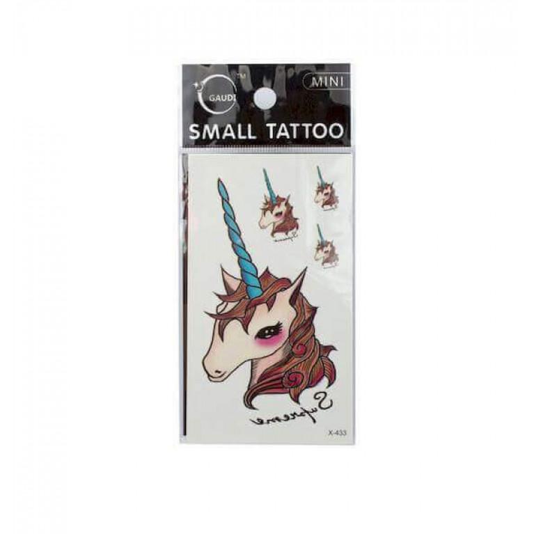 Временная татуировка Единорог