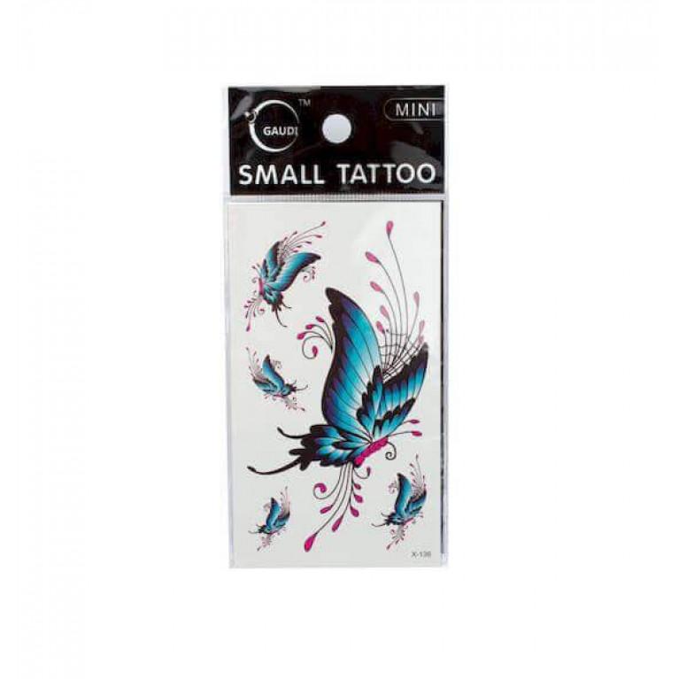 Временная татуировка Butterfly