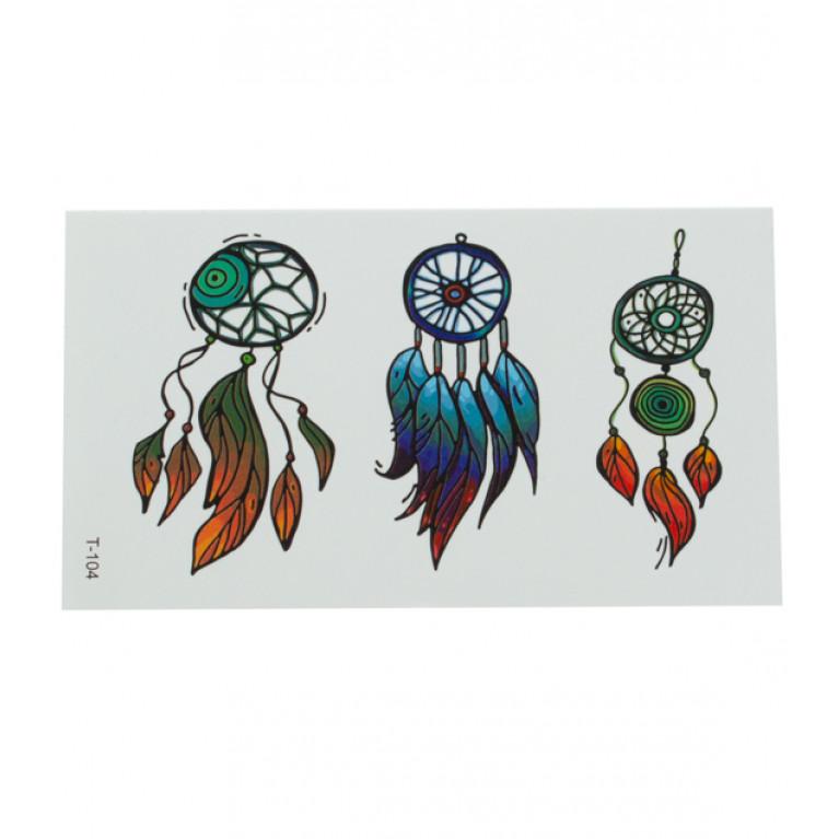 Временная татуировка Ловцы снов