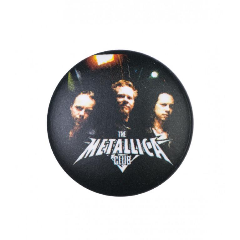 Значок Metallica Club