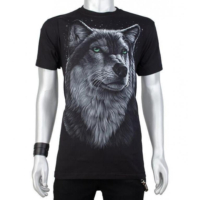 Футболка Wolf светится в темноте