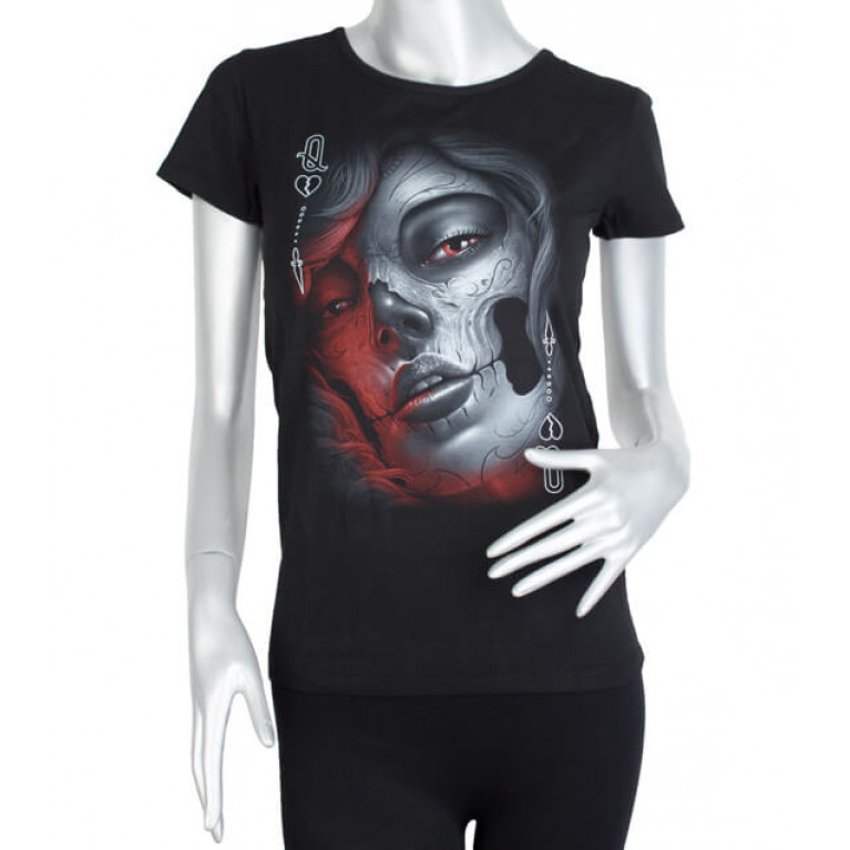 Женская футболка Muerte