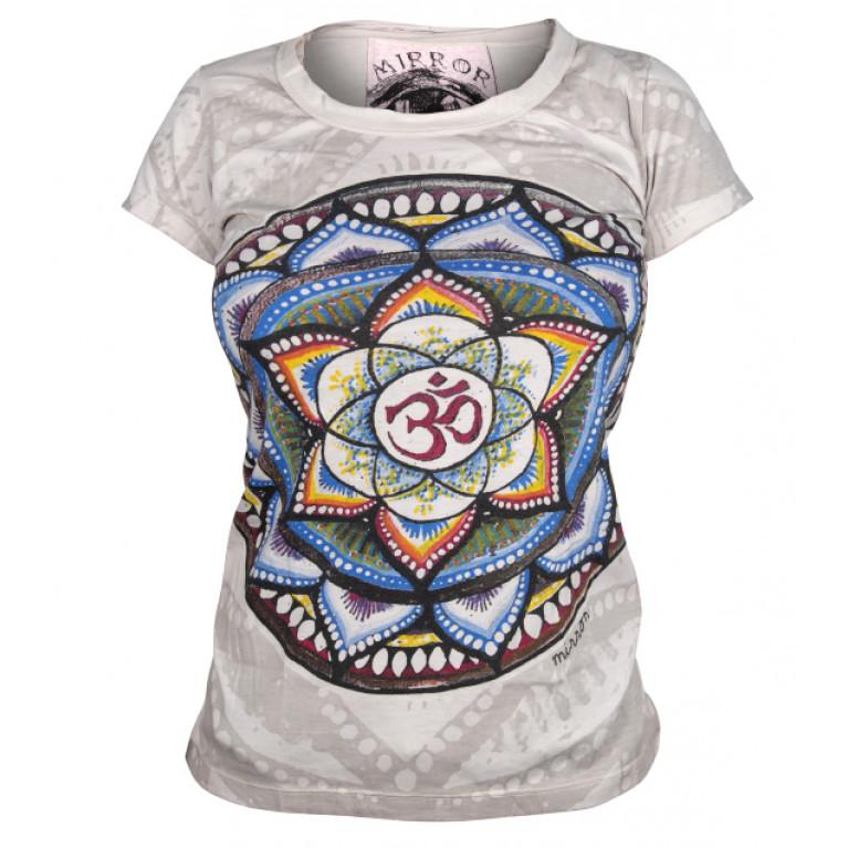 Женская футболка Мандала OM