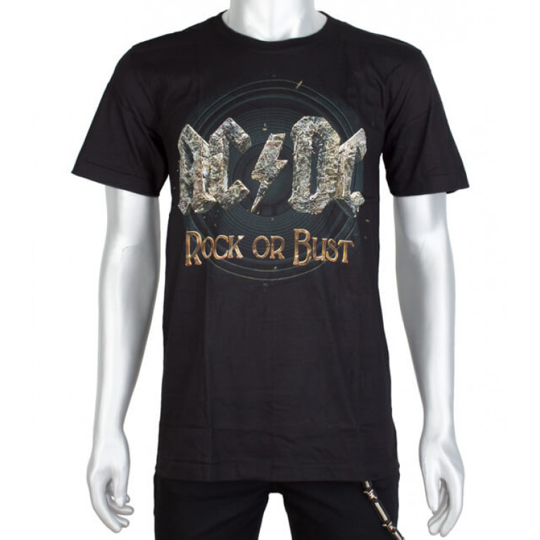 Футболка AC/DC Rock of Bust