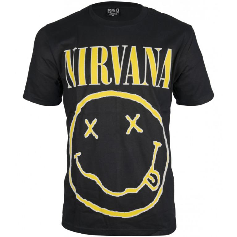 Футболка Nirvana Smile