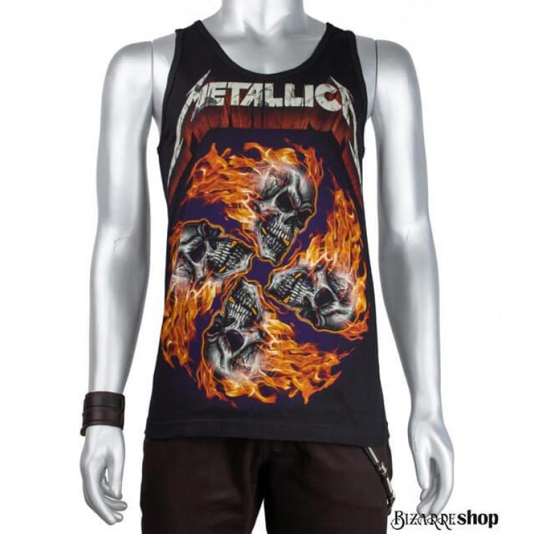 Тэнк-топ Metallica черепа