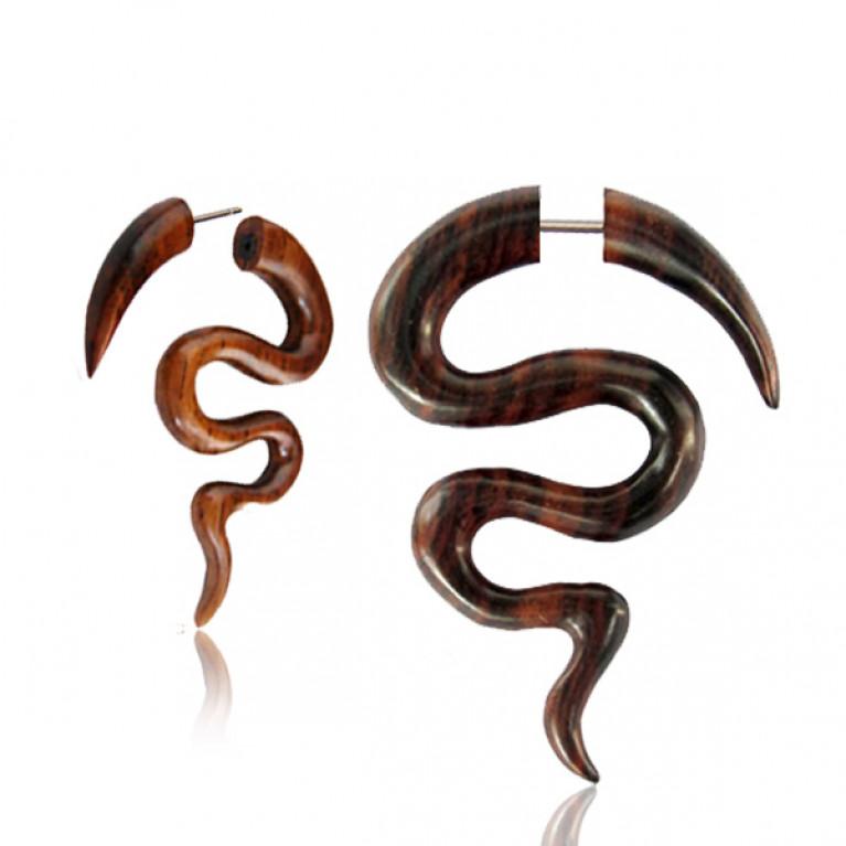 Фейк спираль змейка диаметр 6 мм.