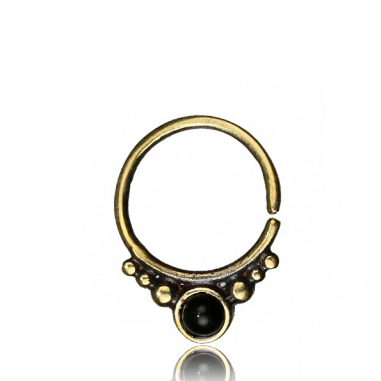 Кольцо разжимное для септума Гроздь