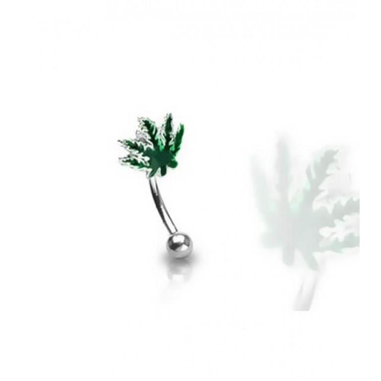 Микробанан травка толщина 1.2 мм длина 8 мм шарик 3 мм