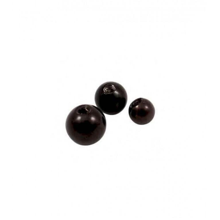 Накрутка шар стальная черная