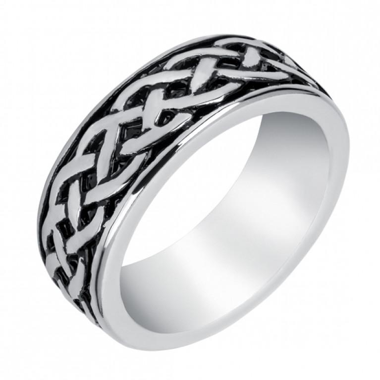 Кольцо из ювелирной стали Celtic pattern
