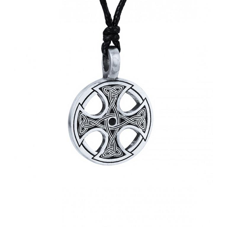 """Подвеска из оловянного сплава """"Кельтский крест"""""""