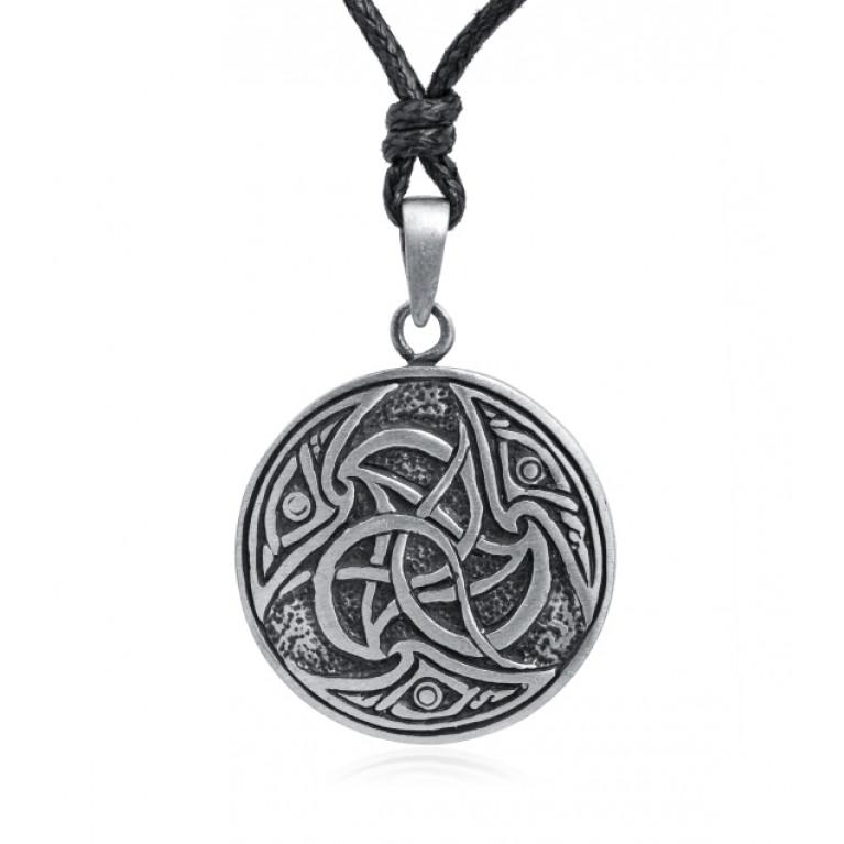 Подвеска из оловянного сплава Кельтский Трискель